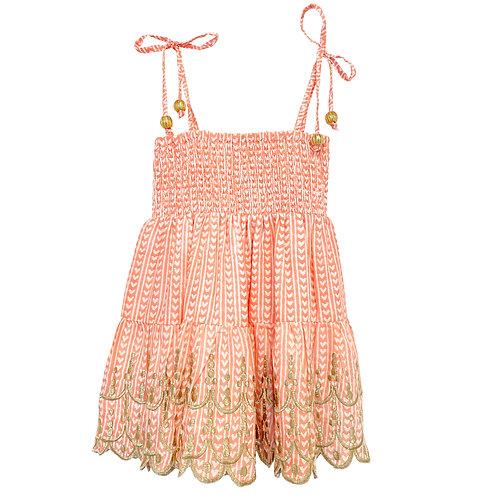 Smocked Scalloped dress