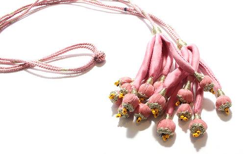Braided necklace belt