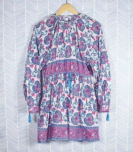 Sold Out--Multi print dress