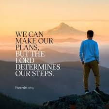 Let God, Order Your Footsteps