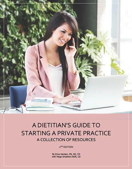 A Dietitian's Guide to Starting a Private Practice