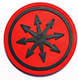 109 Звезда Хаоса  патч ПВХ