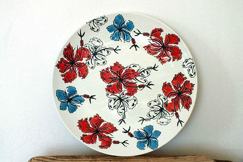Japanese Flower Plate