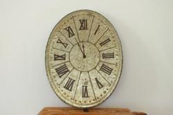 Oval Roman Clock
