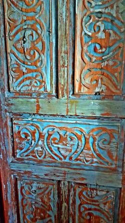 Mediterranean Blue Door