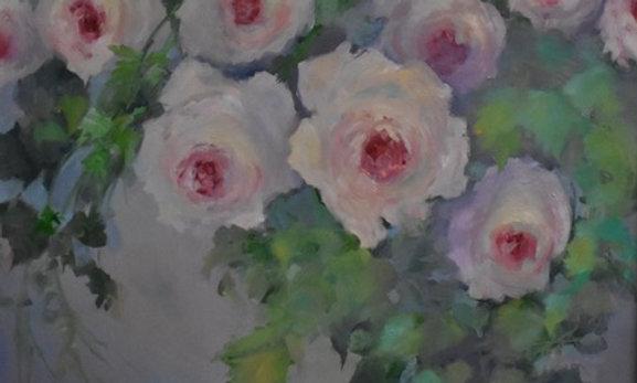 Morning Roses   48x48