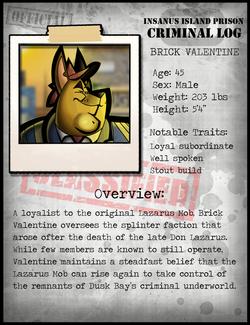 Brick Valentine