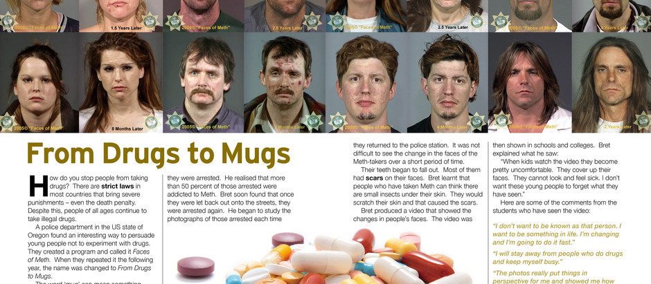 From Drugs To Mugs