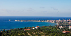 Methoni view from property
