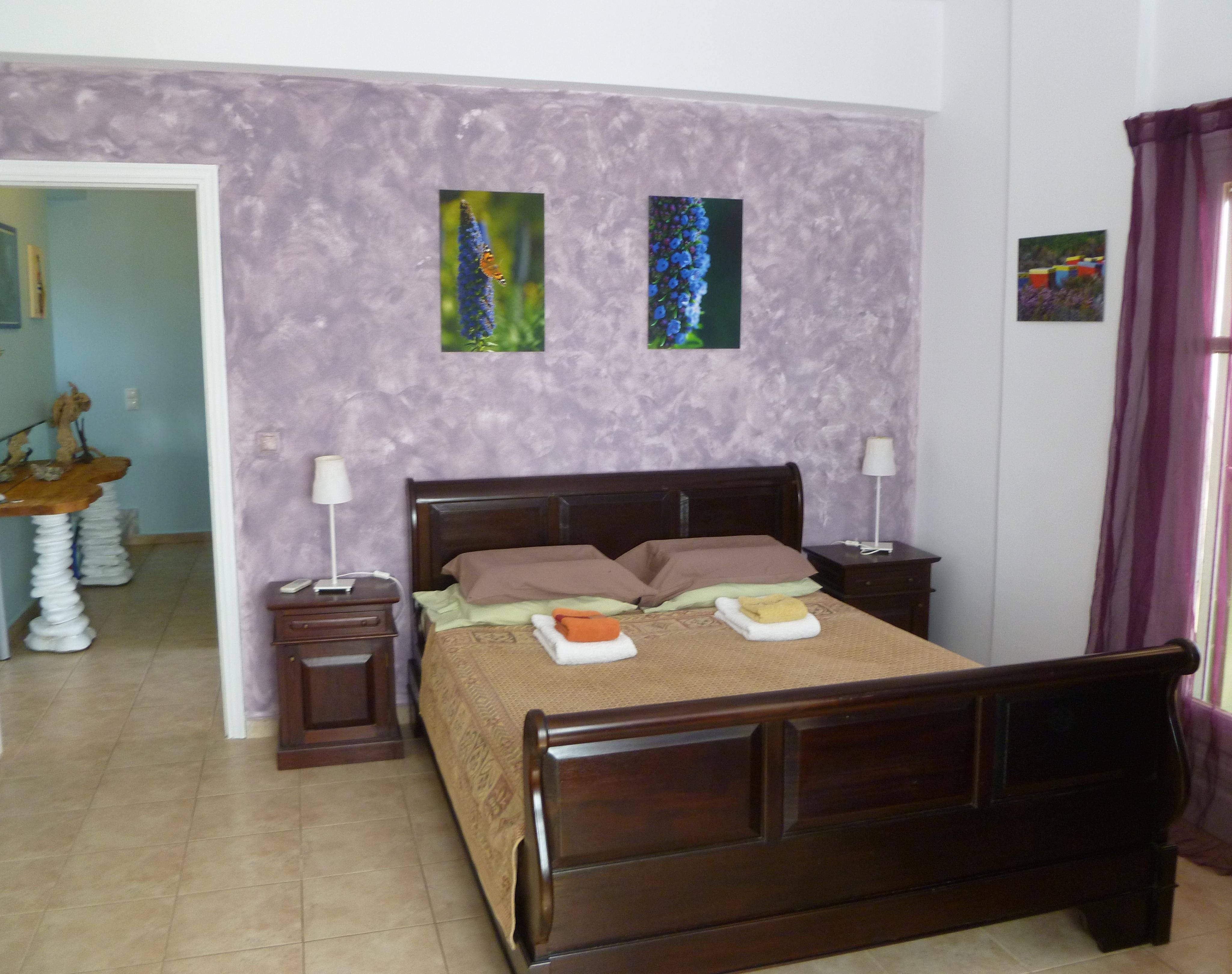 Villa Shani master bedroom