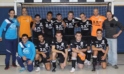 ניצחון ראשון למועדון מכבי אריאל בליגת עליונה של כדורגל אולמות!