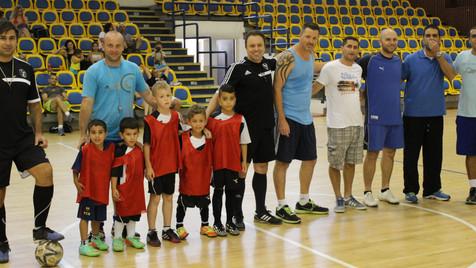 """בית ספר לכדורגל """"אריאל""""- הורים נגד ילדים"""