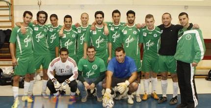 השנה גם אוניברסיטת אריאל משתתפת בליגת כדורגל אולמות - פוטסל!