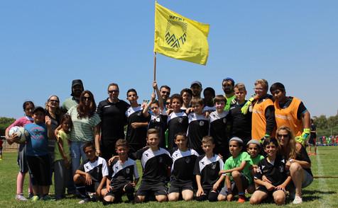 משלחת אריאל אולימפיאדת הילדים ה-8 במכון וינגייט