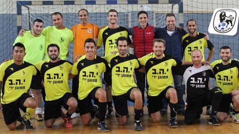 מועדון כדורגל אולמות מכבי אריאל 8 מכללת שנקר 3!!!