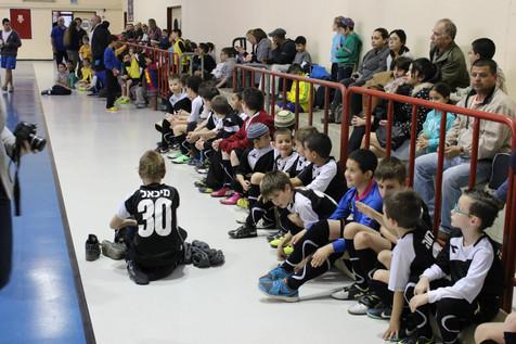 משחק ראשון השנה נגד קבוצת כדורגל אולמות ראש העין-טוטאל גול