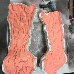 rubber mold of 3d print