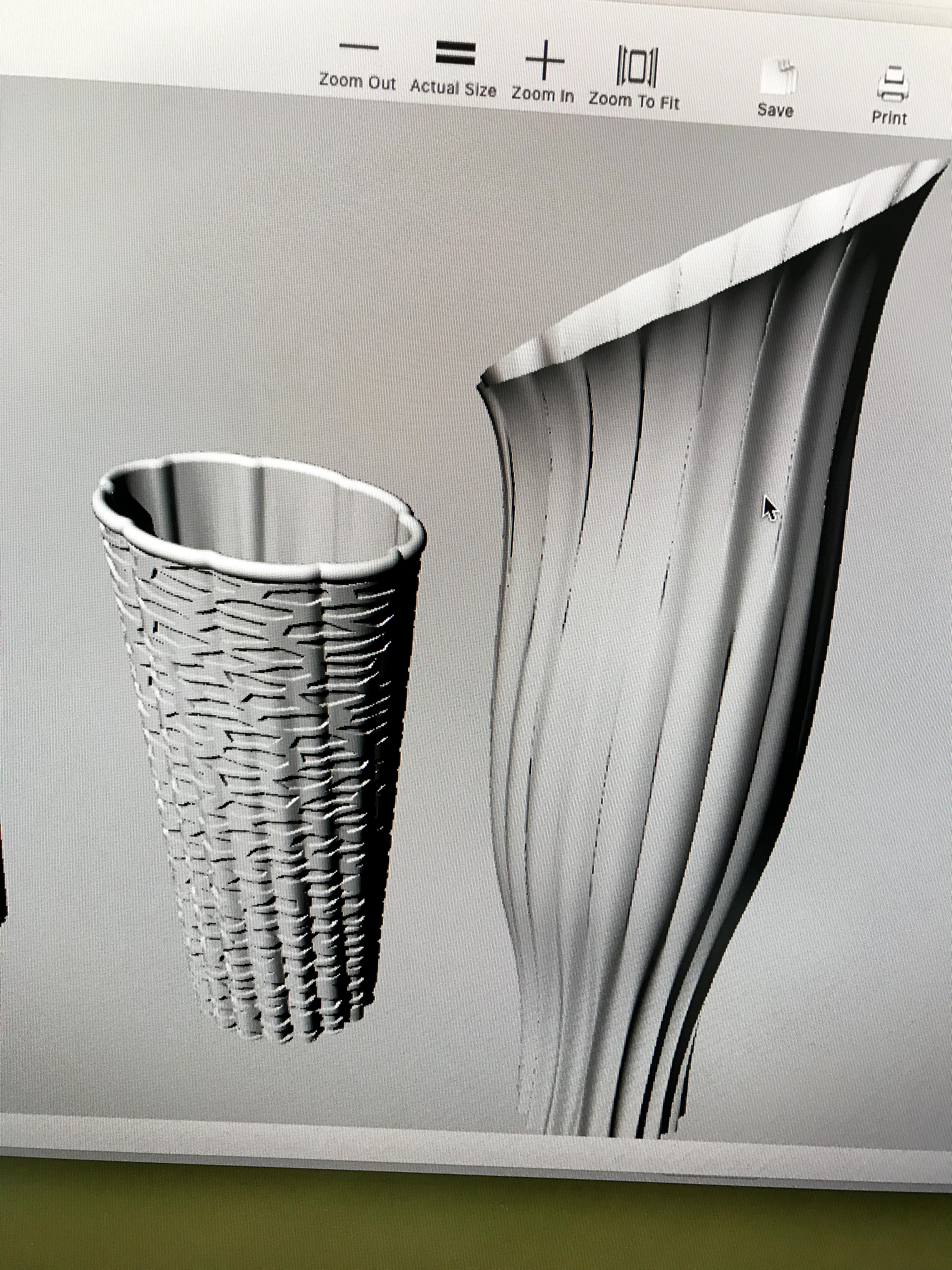 Rhino cup designs