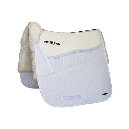 Woven Wool Square Dressage Saddle Pad