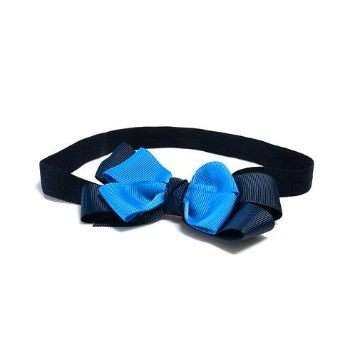 Vincha elástica azul