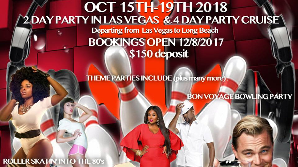 Vegas On The Seas 4 Platinum Party Package & Cruise Booking