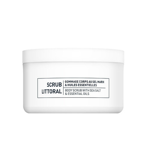 Scrub Littoral - Gommage corps au sel marin & huiles essentielles