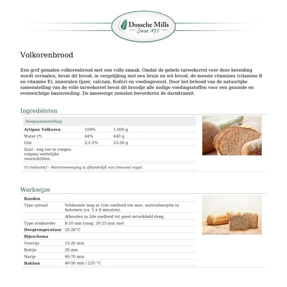 Artipan-Broodmix voor volkorenbrood-ARTI