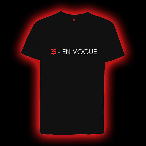 3G-EN VOGUE TSHIRT MAN BLACK
