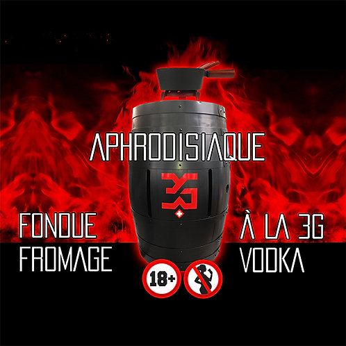 3G-SWISS FONDUE 900g cheese and 350ml 3G-VODKA