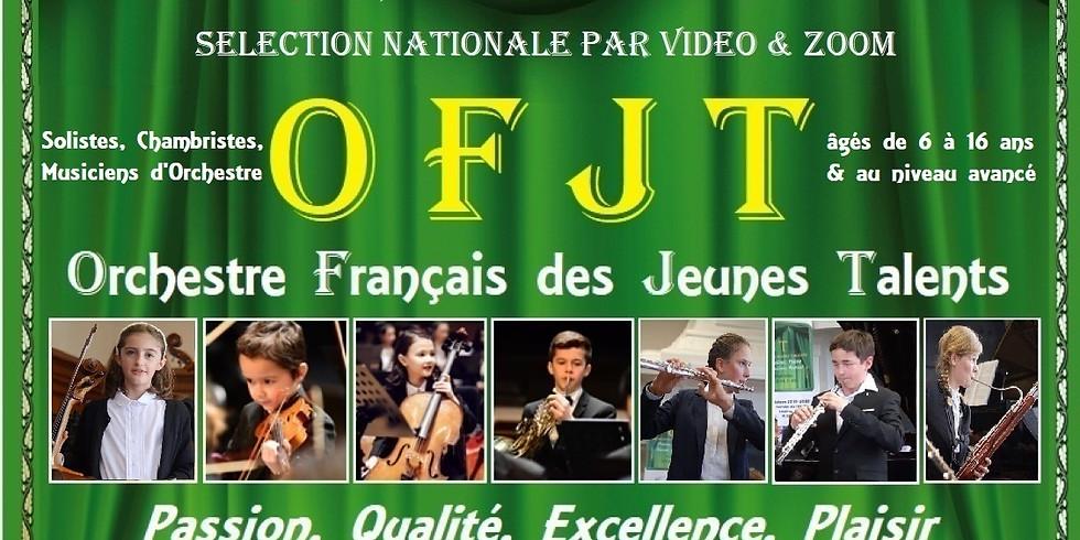 Inscription au Concours OFJT 2021