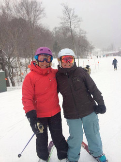 Stowe ski buds 4-ever.