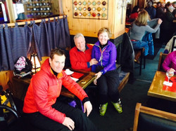 Skiing is a family affair.