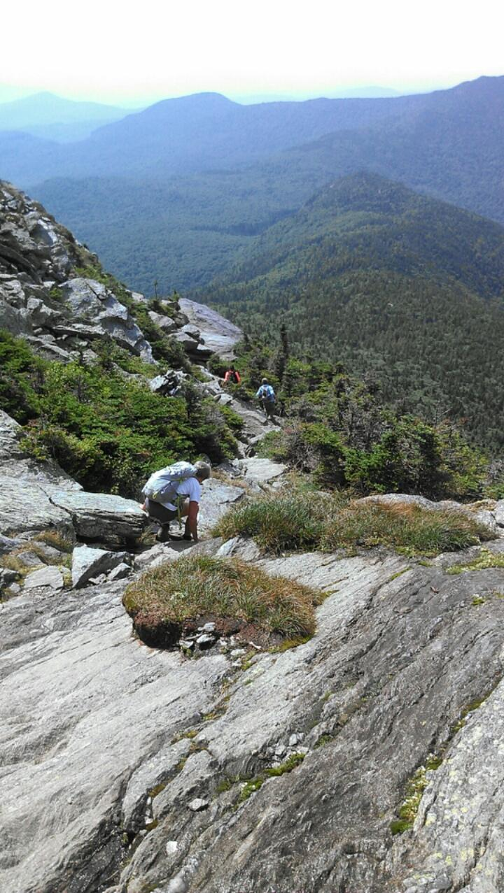 Descending Camels Hump...