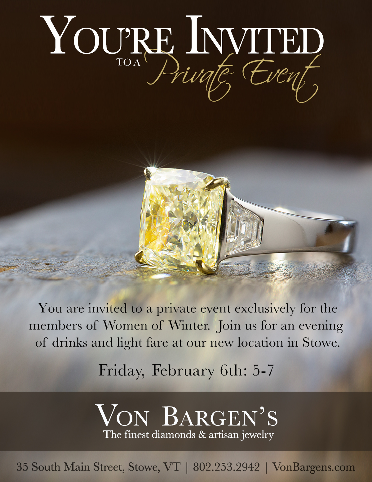 Thank you again, Von Bargen's!!