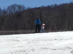 Frisbee on snow, anyone?
