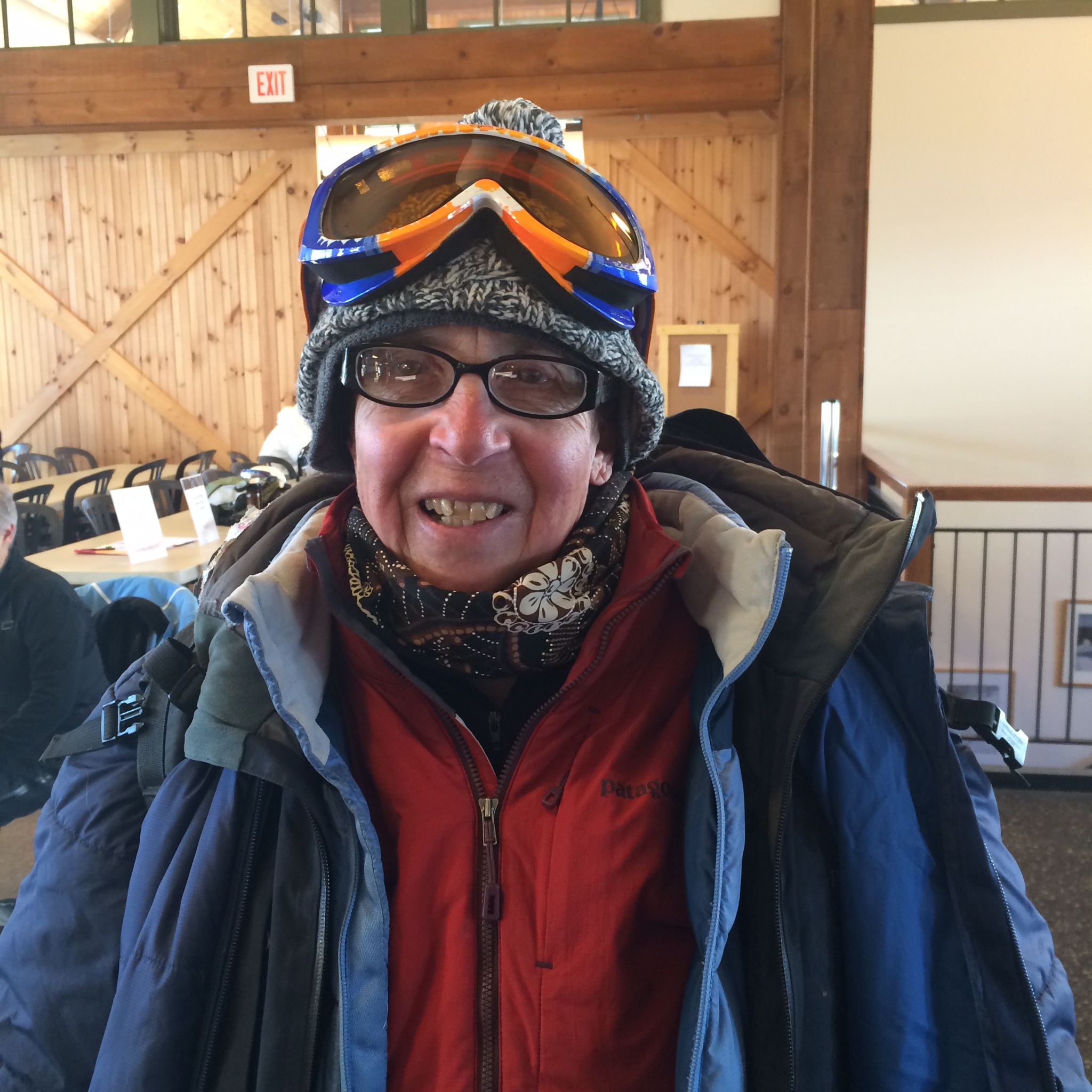 Barb our Sugarbush host...