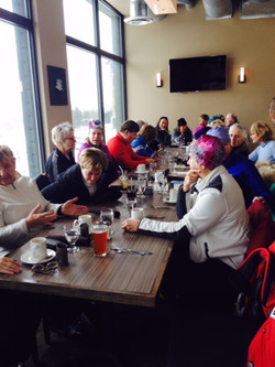 WOW lunch at Jay Peak.