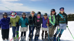 Spring Skiing In Skirts