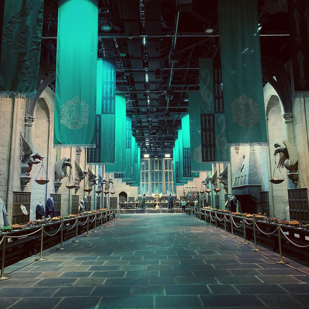 Slytherin Costume Display