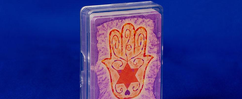 J-Cards (Hamsa design)