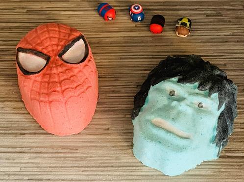 Inspired Superhero Surprise Bathbombs