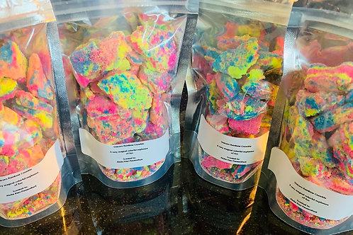 Rainbow Bath Crumbles