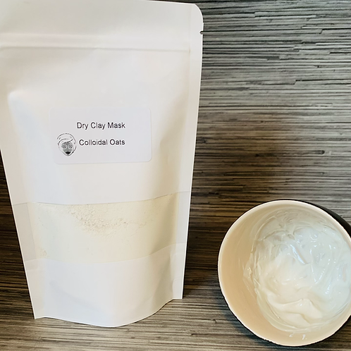 Dry Clay Mask - Colloidal Oats