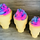 Thumbnail: Medium Ice Cream Cone with bubble frosting