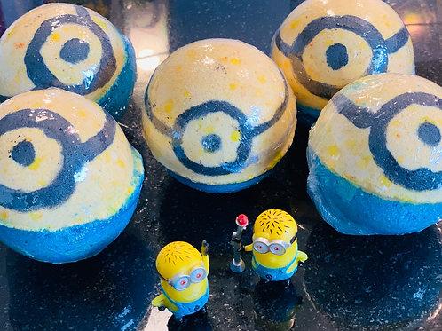 WHOLESALE Inspired Minion Toy Surprise Bathbombs