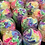Thumbnail: Rainbow whipped soap Large