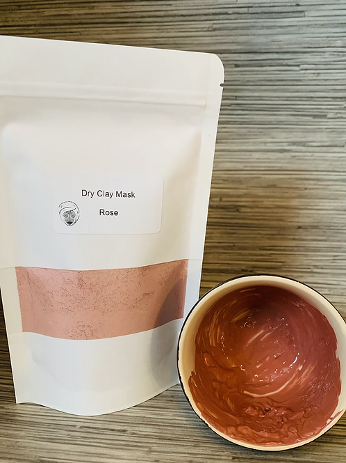 Dry Clay Mask - Rose