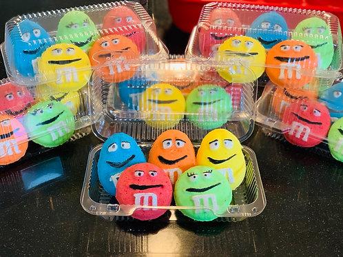 M Chocolate Candy Bathbombs