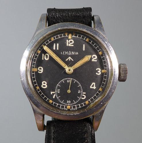 Rare Lemania WW2 Q7960 Dirty Dozen Military Wristwatch #1