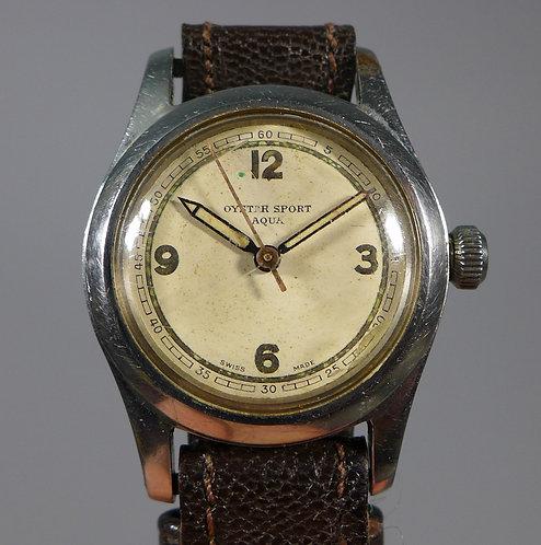 Rare Vintage Stainless Rolex Made Oyster Sport Aqua Wristwatch #1